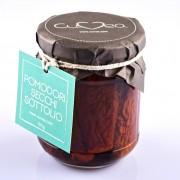 Getrocknete Tomaten in extra natives Olivenöl