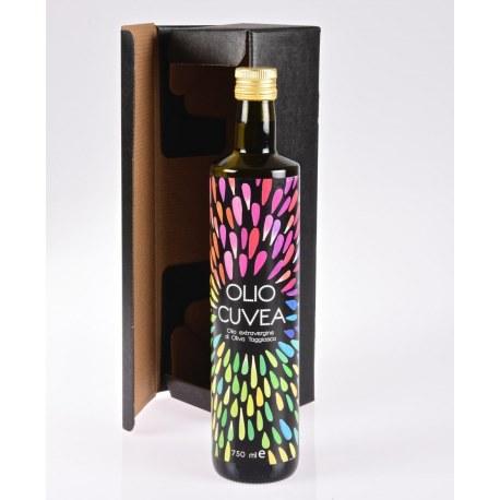 Geschenkkorb Ligurische Olivenöl Cuvea